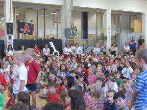 Students were wonderful during the assembly...they make us very proud!! Looking forward to a fabulous year!