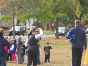 Chris Regan organized the Krazy Kids Races on the Green-so much fun for our students!!
